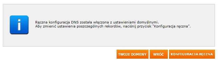 Jak przejść do ręcznej konfiguracji rekordów domeny w nazwa.pl?
