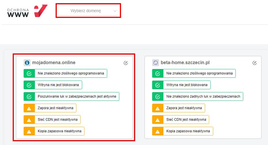Jak dodać certyfikat SSL do witryny w Ochronie WWW?