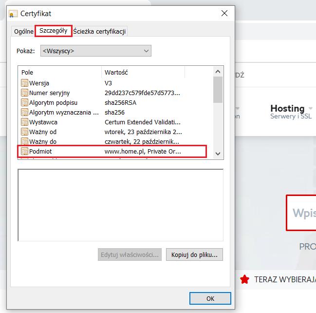 Jak sprawdzić informacje o certyfikacie SSL w przeglądarce Google Chrome?