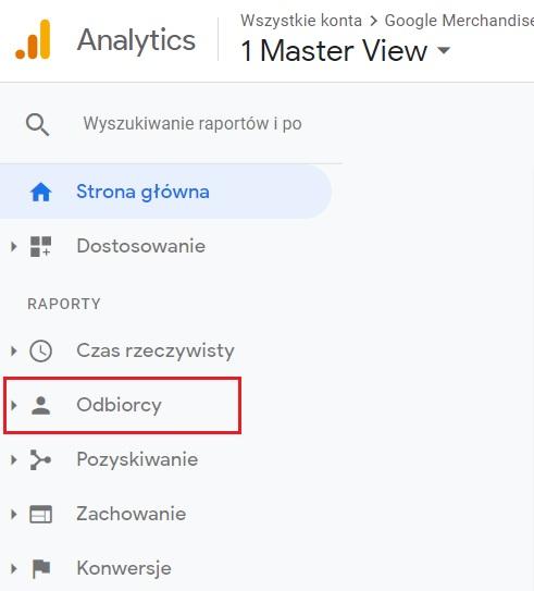 Google Analytics - podstawowe parametry na stronie