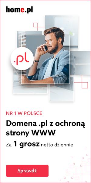 Wybierz domenę internetową z ochroną WWW od home.pl