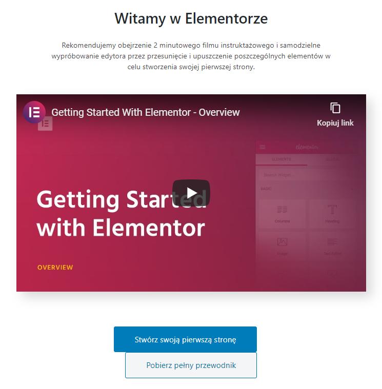 Odszukaj i zainstaluj teraz wtyczkę Elementor w WordPress