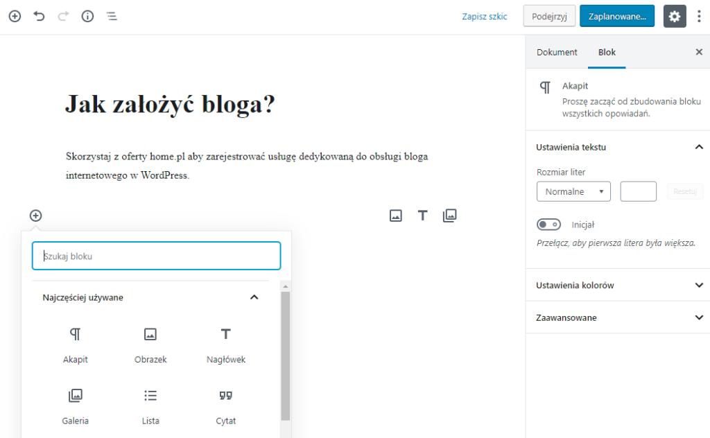 Jak przywrócić klasyczny edytor WordPress?