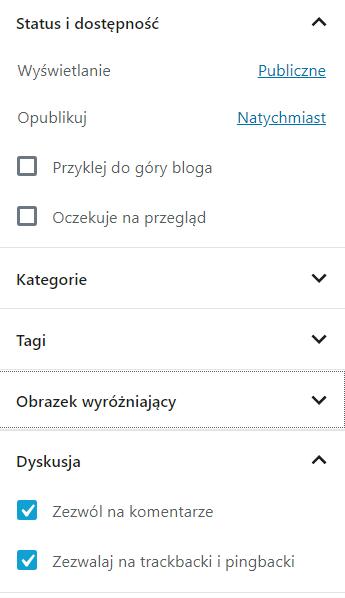 Jak wyłączyć komentarze do wpisów WordPress?