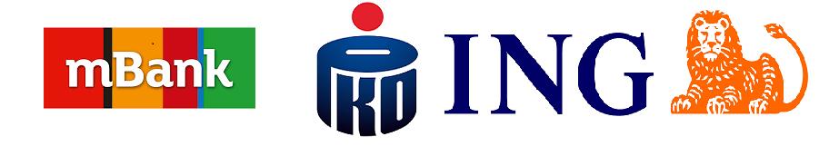 Założenie działalności gospodarczej przez bank - mBank, PKO BP, ING