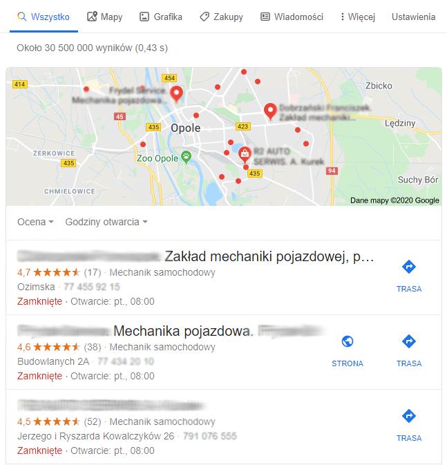 Jak zwiększyć pozycję w Google Maps?