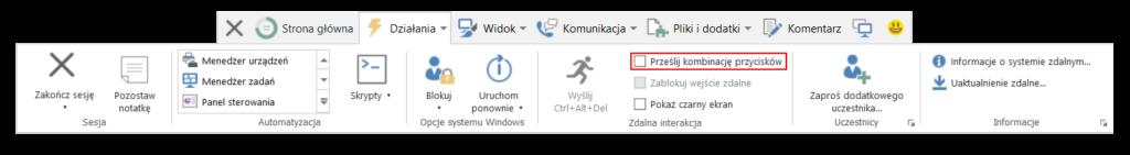 TeamViewer - jak używać skrótów klawiszowych przy sesji zdalnej