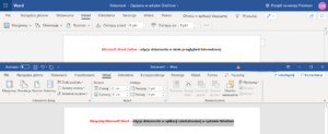 Czym różni się Microsoft Word od wersji Word Online?
