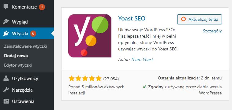 Jak zainstalować i aktywować Yoast SEO?