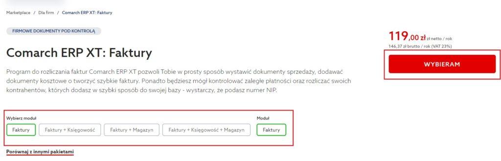 Jak zamówić usługę Comarch ERP XT w home.pl?