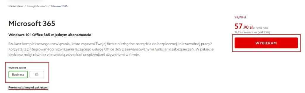 Jak zamówić i zarejestrować Microsoft 365 w home.pl?