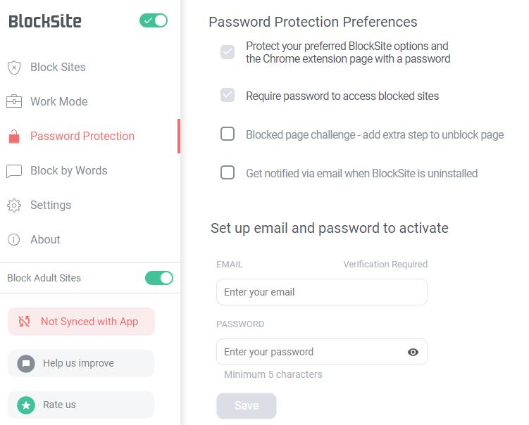 Blokowanie stron WWW w Google Chrome za pomocą BlockSite