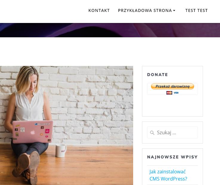 Płatności PayPal na stronie internetowej WordPress