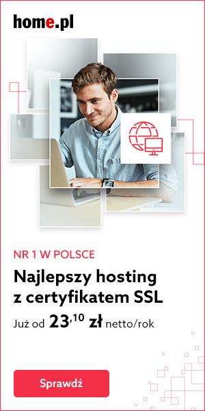 Zamów Hosting z certyfikatem SSL w home.pl