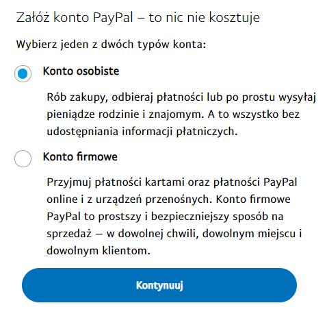 PayPal - elektroniczny portfel do obsługi płatności internetowych