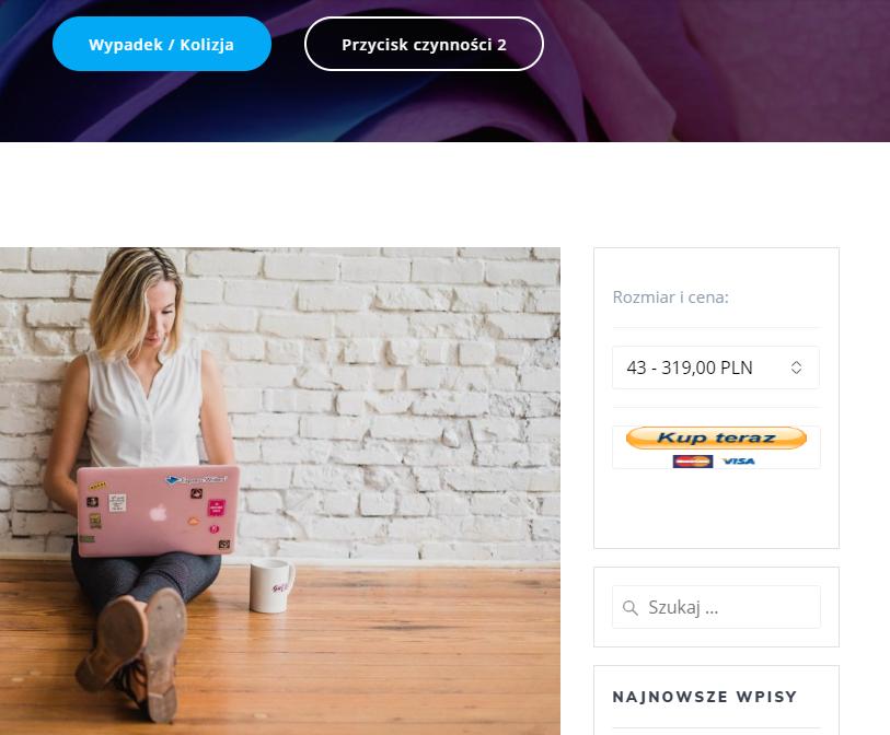 Płatności PayPal zintegrowane ze stroną internetową w CMS WordPress