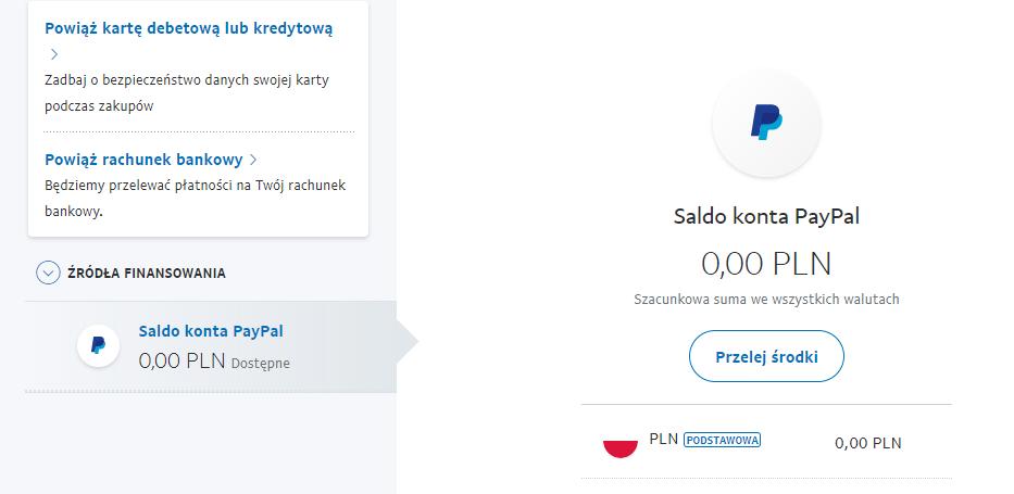 Jak doładować konto PayPal?