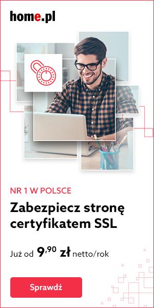 Zamów certyfikat SSL w home.pl