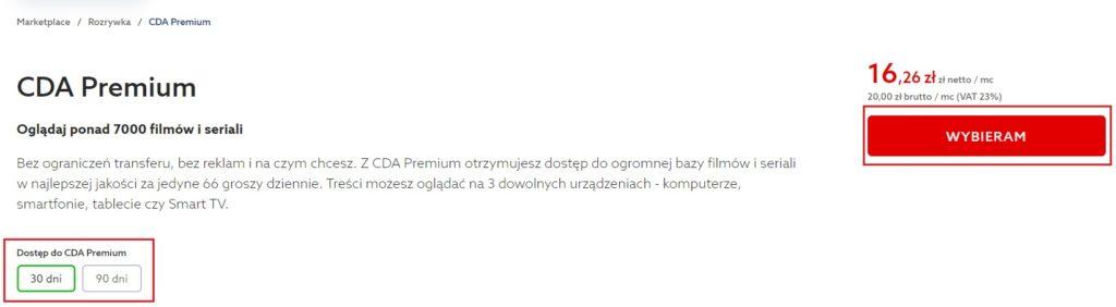 Jak zamówić CDA.pl Premium w home.pl?