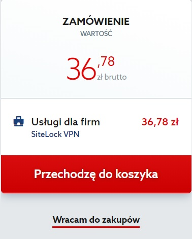 Jak zamówić Sitelock VPN?