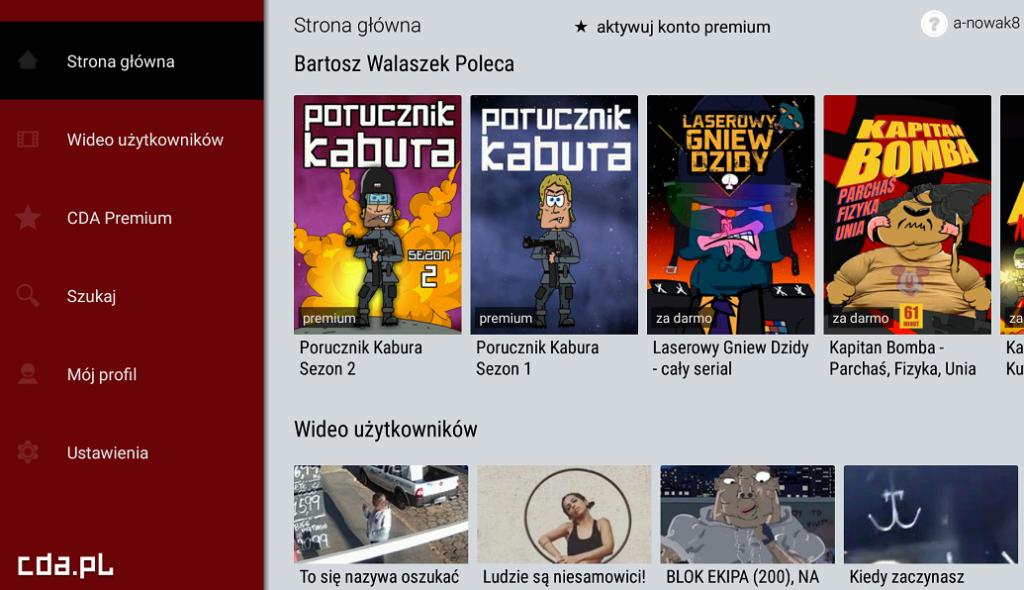 Logowanie lub rejestracja w serwisie CDA.pl - całe filmy z lektorem i napisami oraz seriale