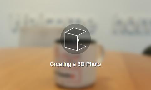 Tworzenie zdjęcia 3D na FB