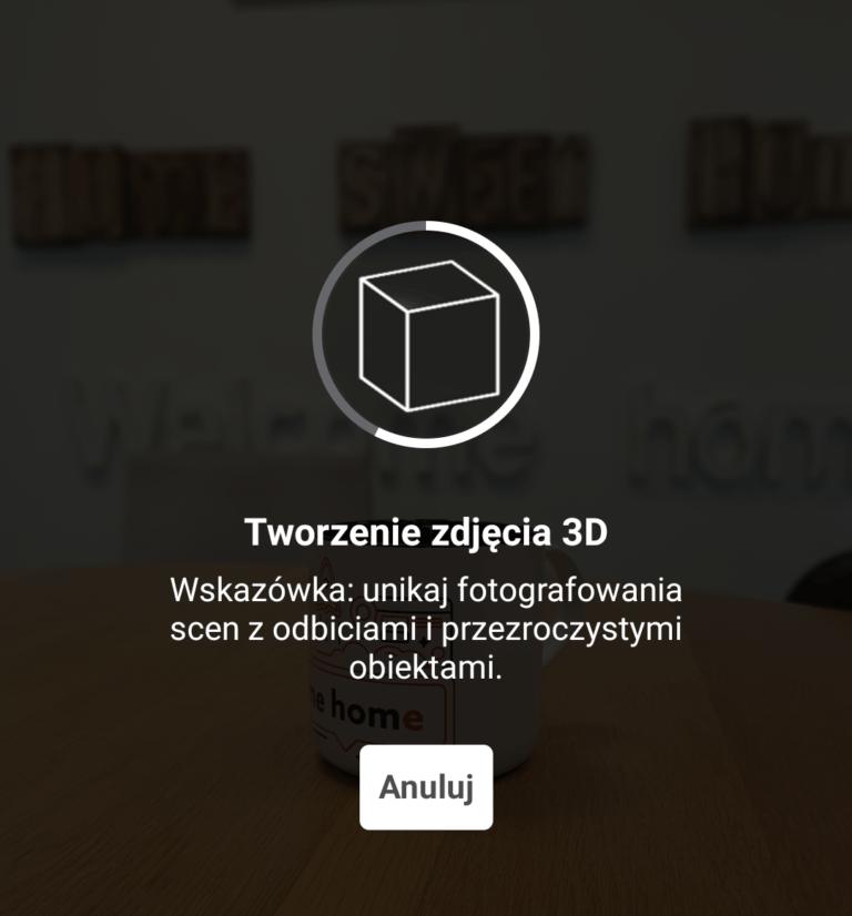 Wybierz zdjęcie portretowe ze swojego smartfona, aby utworzyć zdjęcie 3D na FB.