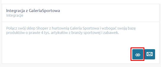 Aplikacja - Integracja z Galeria Sportowa