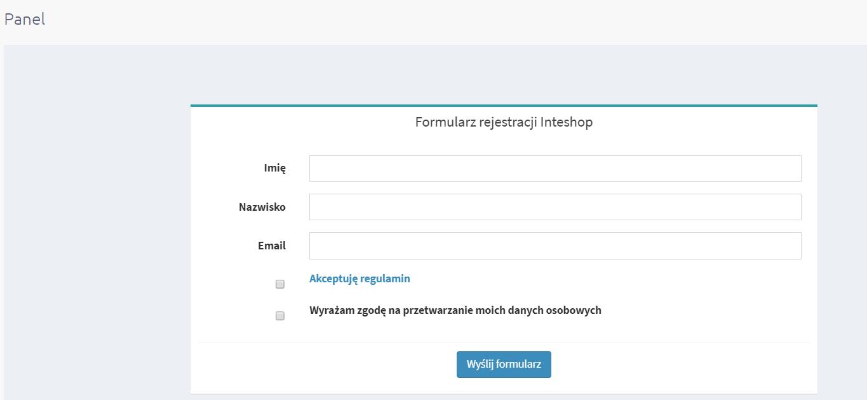 Konfiguracja aplikacji eSklep