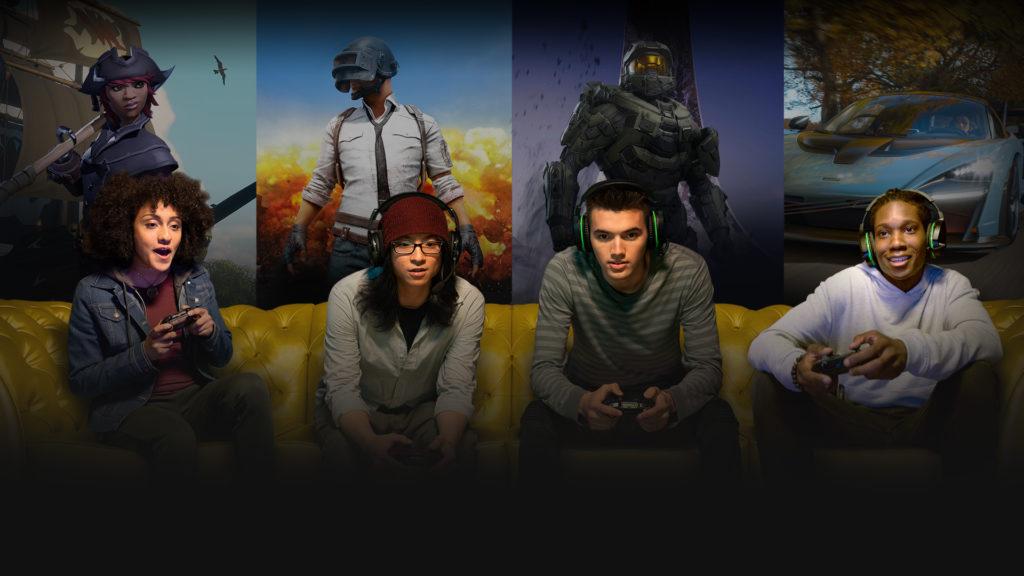 Rozgrywka wieloosobowa na konsoli Xbox
