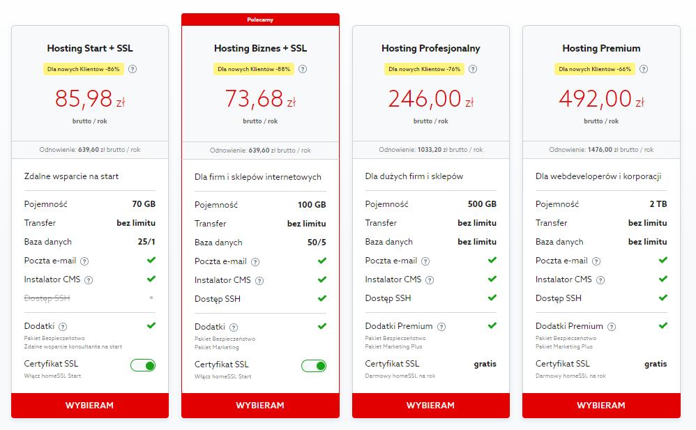 Jak przenieść hosting do home.pl?