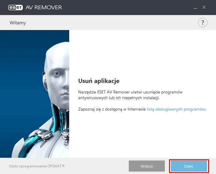 ESET AV Remover ułatwi usuniecie zbędnego oprogramowania antywirusowego z komputera