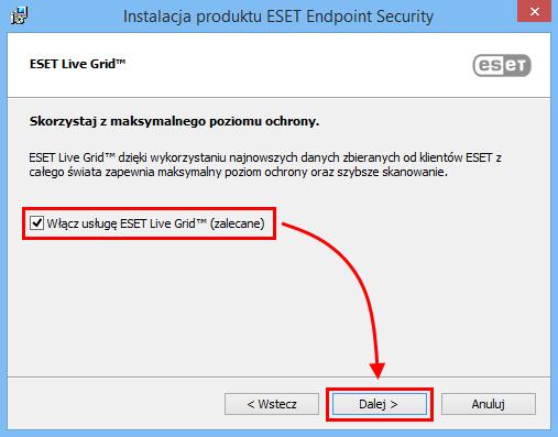 ESET Live Grid ™ to funkcja bezpieczeństwa ESET pozwalająca na szybkie diagnozowanie i wykrywanie nowych cyberzagrożeń.