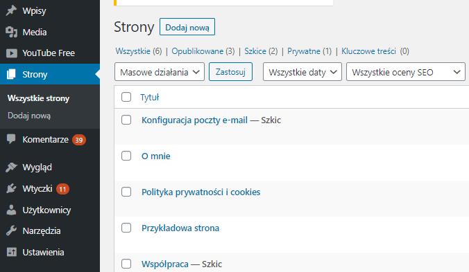 Jak włączyć bloga na stronie głównej witryny WordPress?