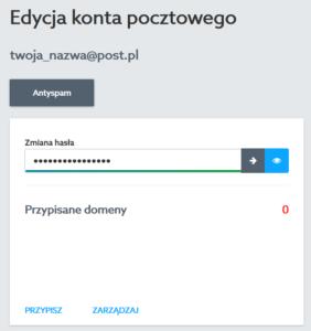 Prywatny e-mail - Użyj przycisku PRZYPISZ