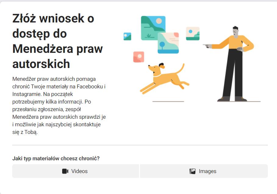 Menedżer praw autorskich na Facebooku: ochrona przed kradzieżą zdjęć i filmów