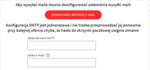 konfiguracja e-mail