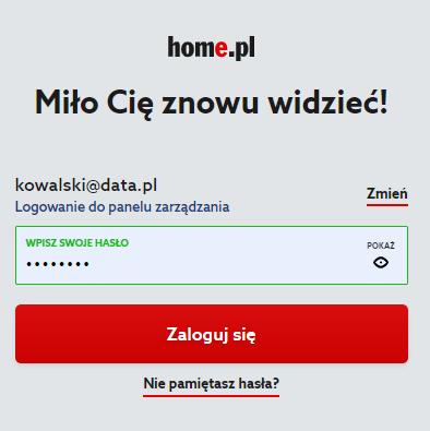 Jak włączyć Panel klienta home.pl w języku angielskim?