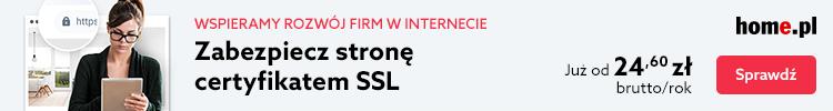 Zabezpiecz stronę WWW certyfikatem SSL