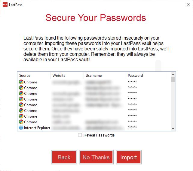 Instalacja LastPass w systemie Windows - secure your passwords