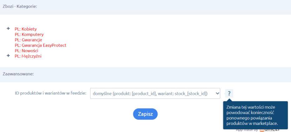 Aplikacja: Zbozi.cz