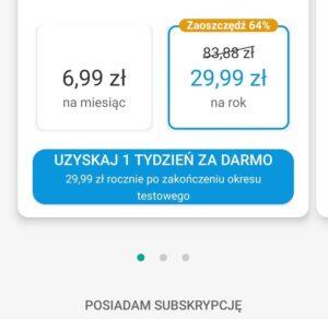 Aktywacja klucza licencji w aplikacji mobilnej Kaspersky