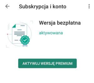 Aktywuj wersję Premium Kaspersky for Android