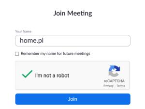 Zoom – jak dołączyć do spotkania przez przeglądarkę