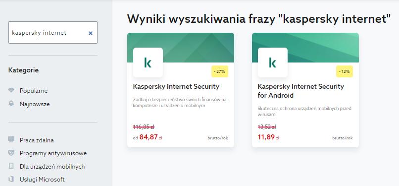 Jak uzyskać klucz licencji Kaspersky for Android?