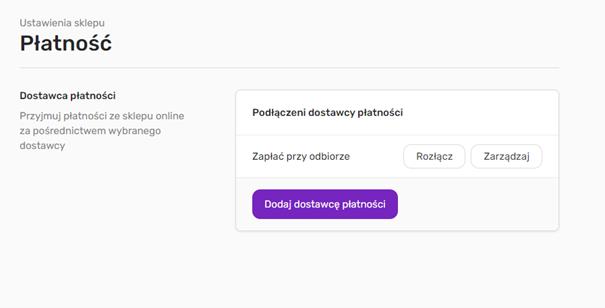 Jak zarządzać płatnościami w sklepie kreatora WWW home.pl?