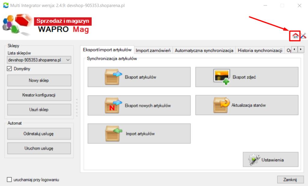 Aplikacja Multi Integrator