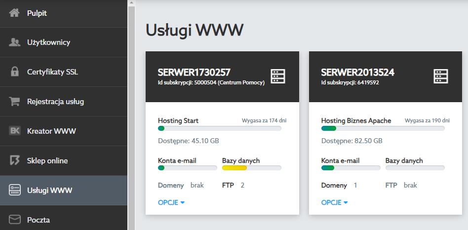 Jak przełączyć hosting Apache na LiteSpeed?