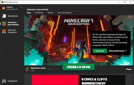 Zagraj w Demo Minecraft