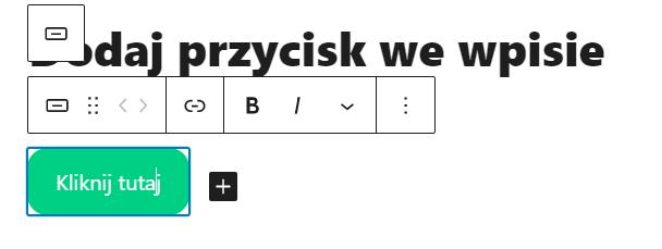 Dodaj nowy przycisk i nadaj mu unikalną nazwę i styl